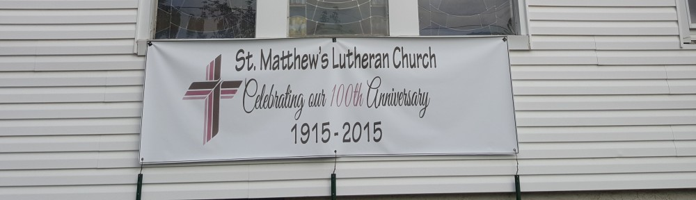 Welcome to St. Matthew's Lutheran Church on Staten Island, New York.